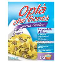 OPLA' CHE BONTA' Pappardelle all'uovo 150 gr